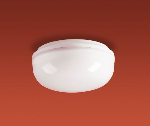 Firstlight 2092WH White Base with Opal Diffuser Finelite Flush Fitting - 100w